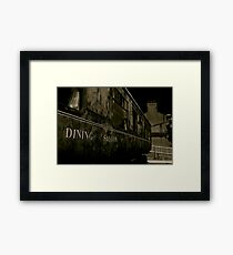 Downpatrick Dining Saloon Car Framed Print