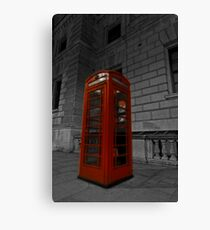 a british icon 1 Canvas Print