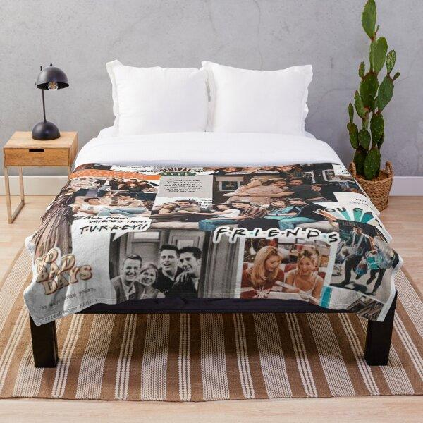 friends wallpaper Throw Blanket