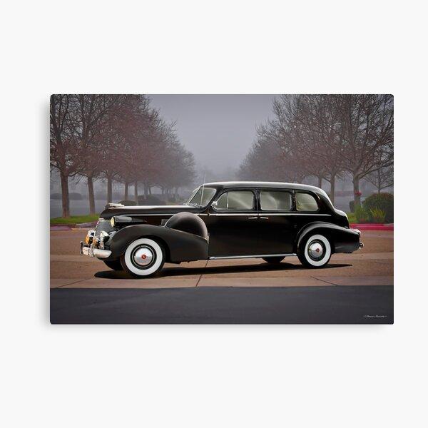 1939 Cadillac Fleetwood 7519 Sedan Canvas Print