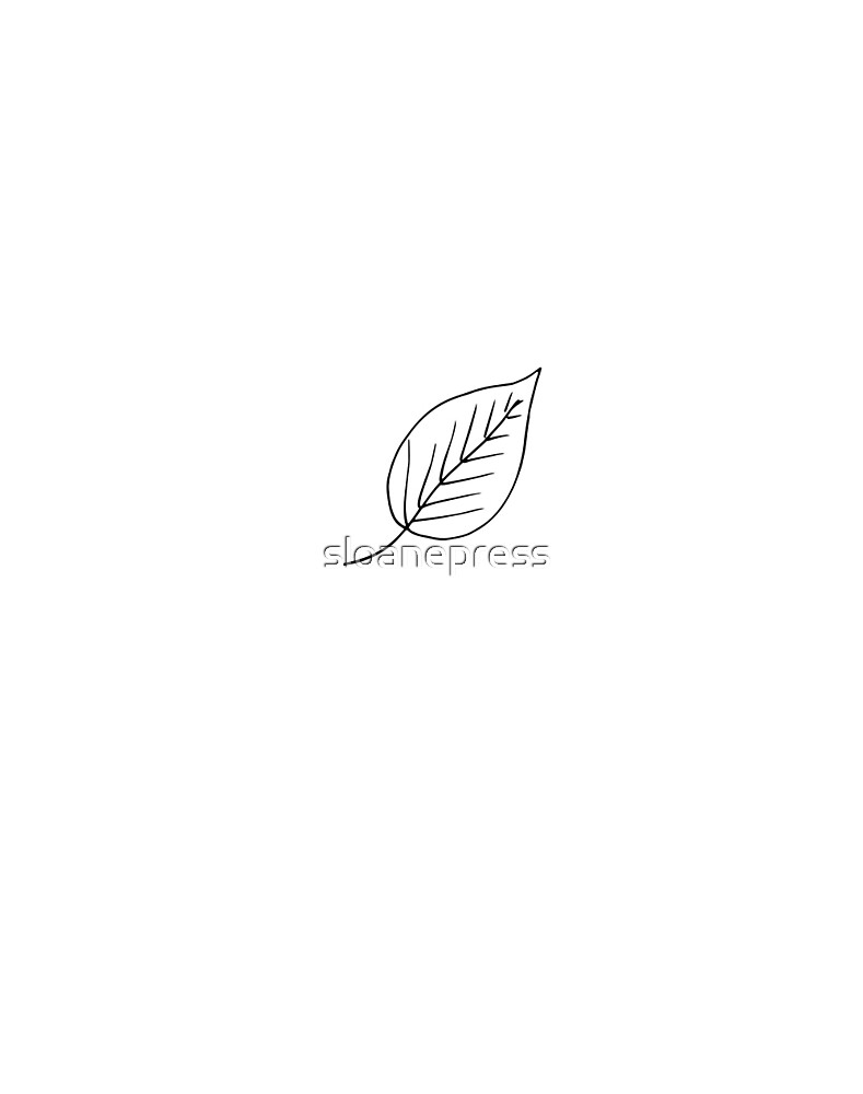 leaf  rubber stamping by sloanepress