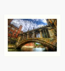 Bridge Of Sighs, Cambridge Art Print