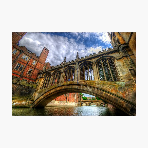 Bridge Of Sighs, Cambridge Photographic Print