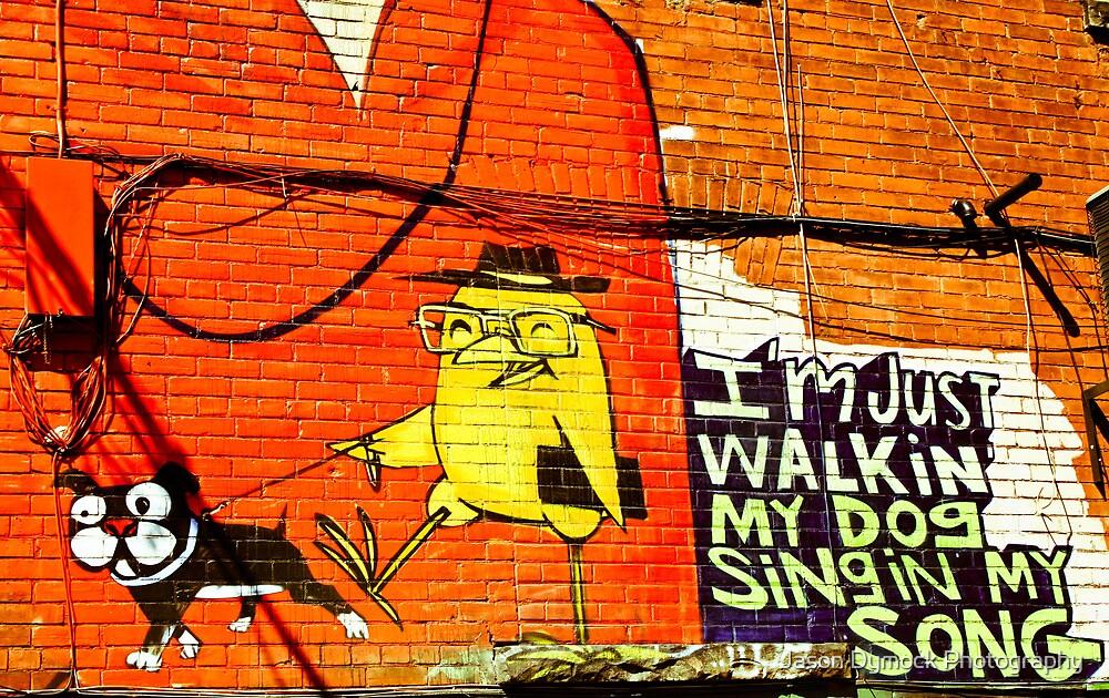 Dog Walker by Jason Dymock Photography