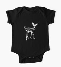 ZOOlogy - White BaMBI Baby Body Kurzarm