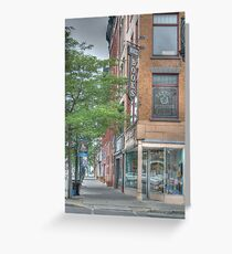 Mando Books - Cortland, NY Greeting Card