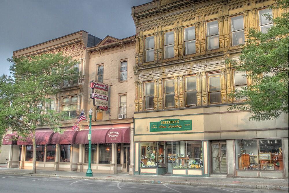 The Community Restaurant - Cortland, NY by Edith Reynolds