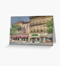The Community Restaurant - Cortland, NY Greeting Card