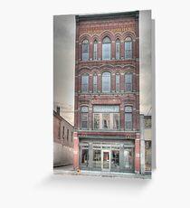 The Beard Building - Cortland, NY Greeting Card