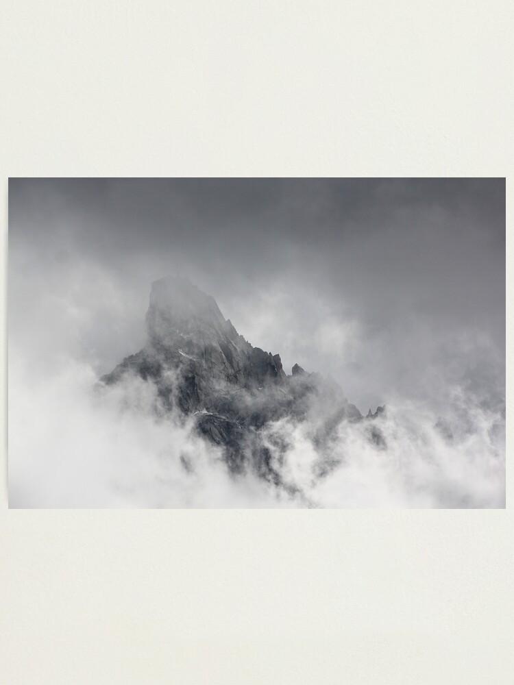 Alternate view of Mountain peak Photographic Print