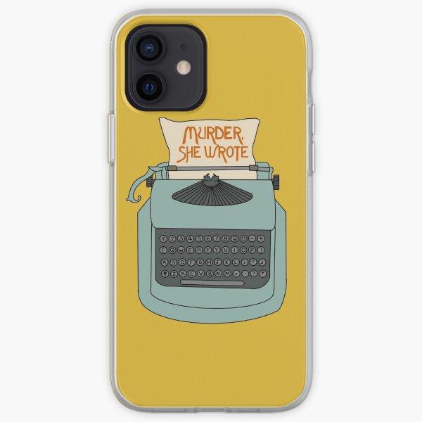 Jessica Fletcher typewriter iPhone Soft Case