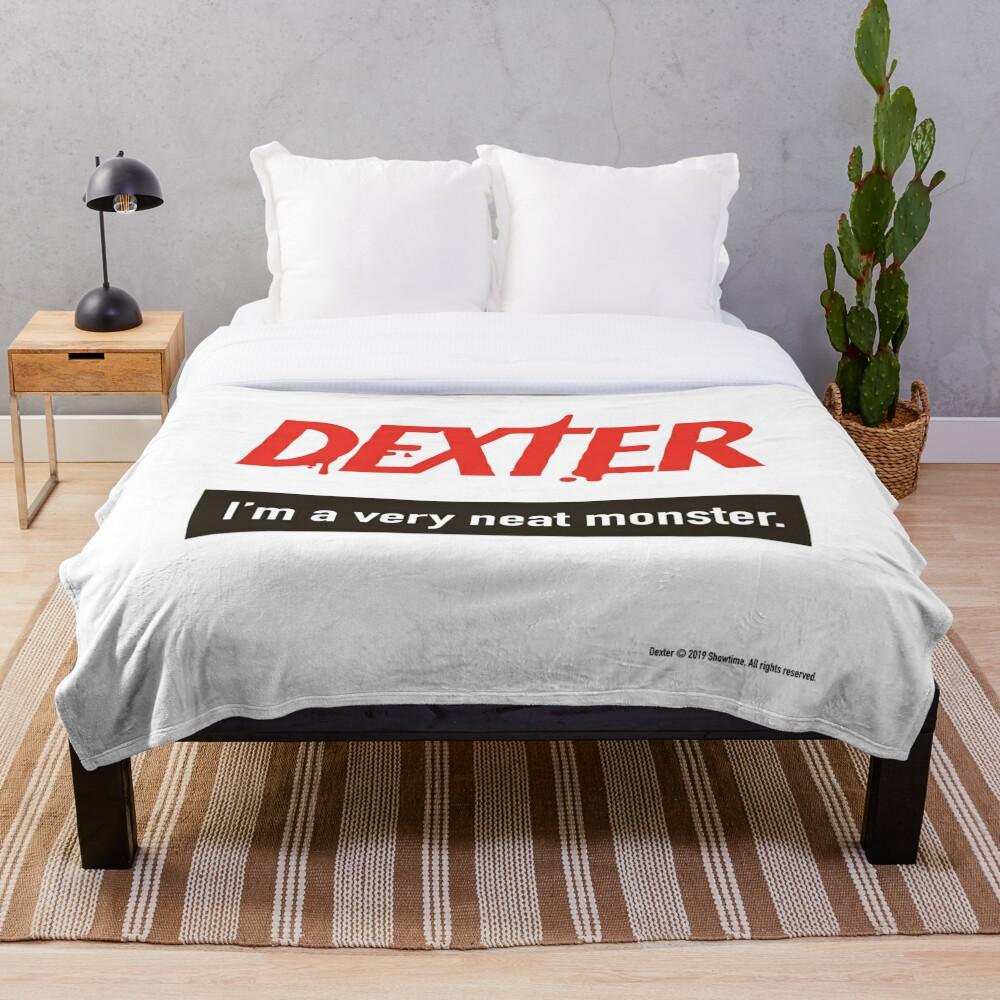 Dexter Morgan Fanart Throw Blanket