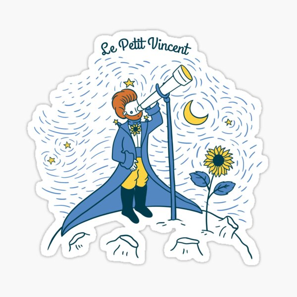 Le Petit Vincent Van Gogh Sticker