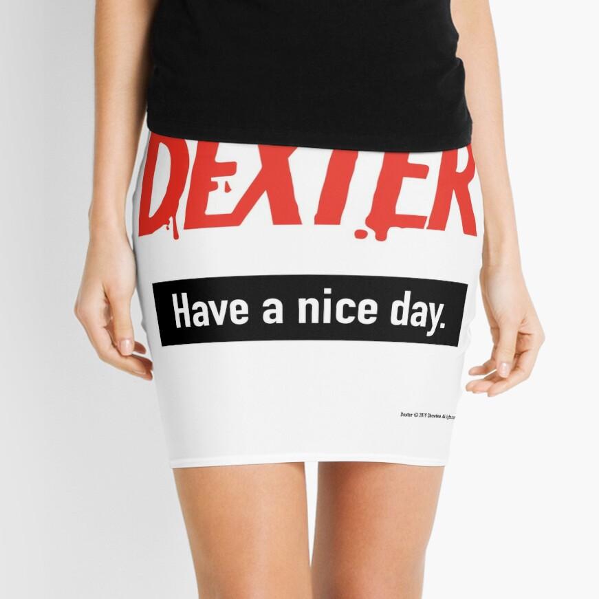 Dexter Fanart Mini Skirt
