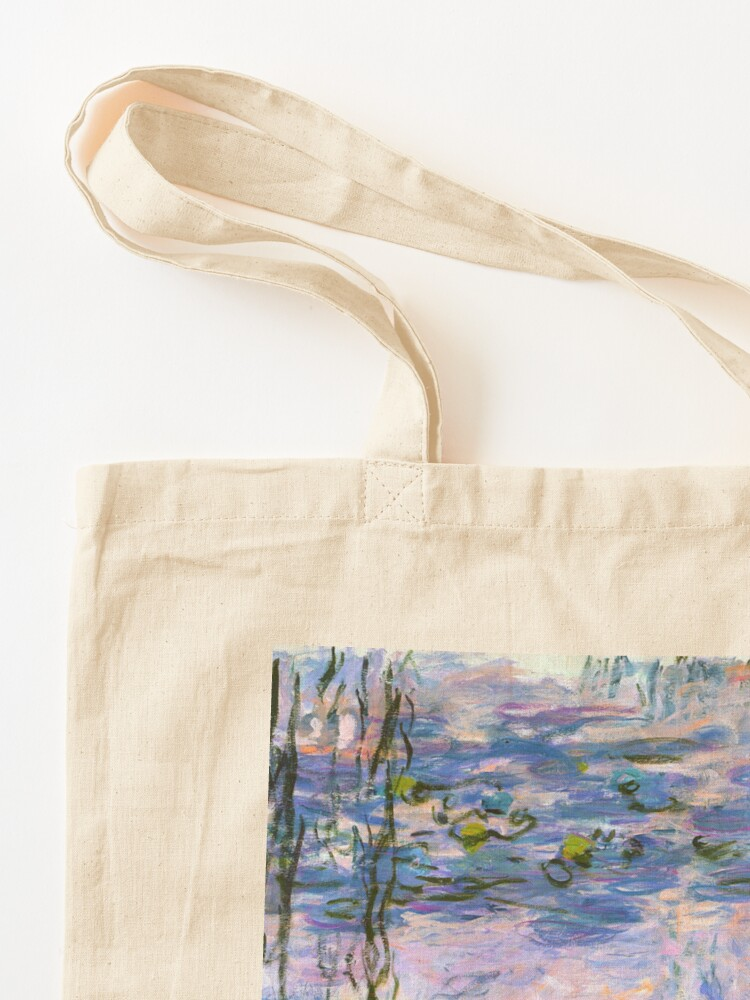 Alternate view of Water Lilies Monet Tote Bag