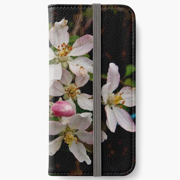 Apple Blossom Time iPhone Wallet