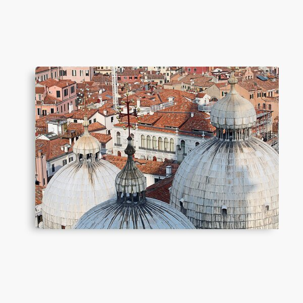 The Rooftops of Venice Canvas Print