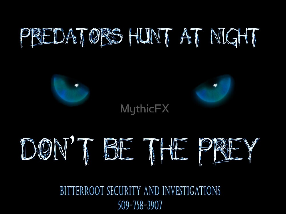Don't be the prey by MythicFX