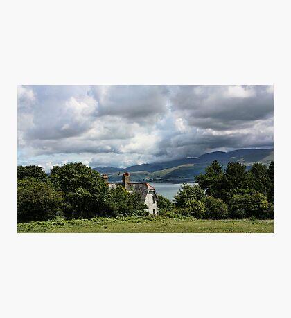 Cottage at Menai Photographic Print