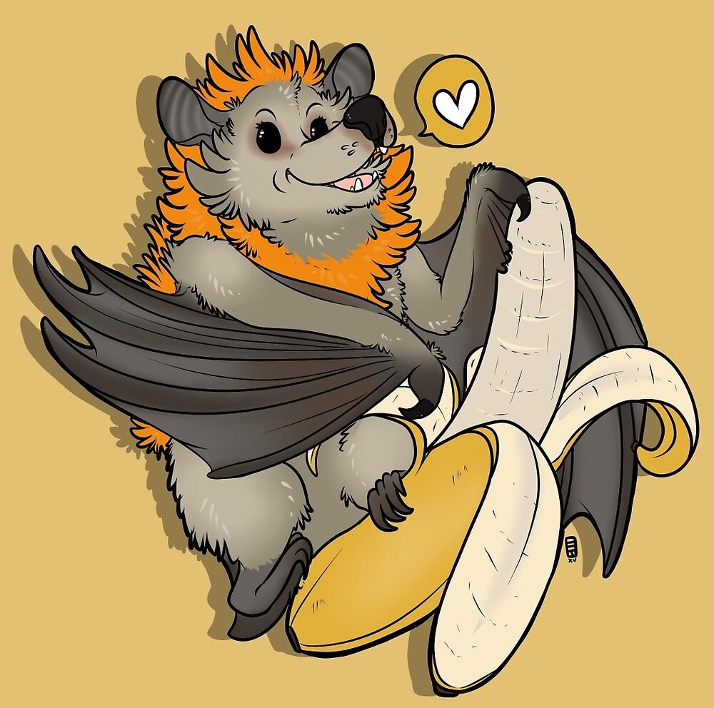 Batty About Bananas by HobbitonToBree