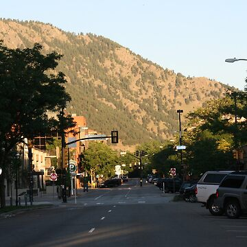 The Streets of Boulder by dmmucha