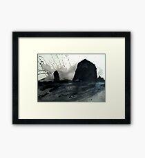 Cannon Beach (study 4) Framed Print
