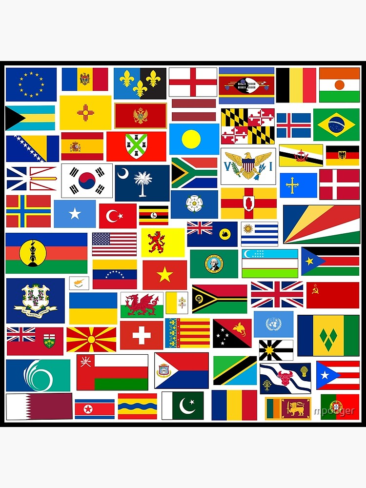 Flags of The World Gifts and Products by mpodger