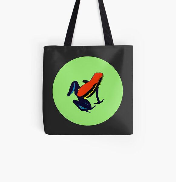 Cainarachi Poison Frog All Over Print Tote Bag
