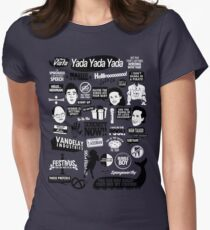 Seinfeld Quotes Women's Fitted T-Shirt