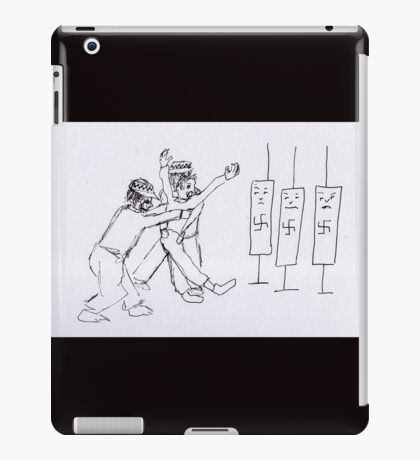 Arrested and not a danger to self or others iPad Case/Skin
