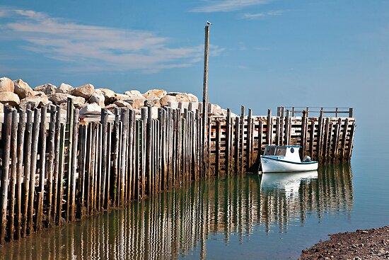 Margaretsville Wharf by PhotosByHealy