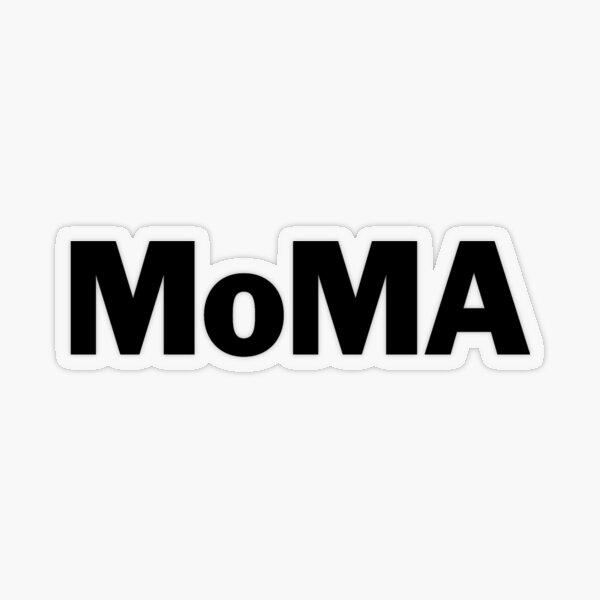MoMA Transparent Sticker
