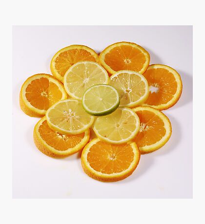 Oranges and Lemons (with a touch of lime!) Photographic Print