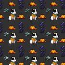 Halloweenie Pets by Eriray076