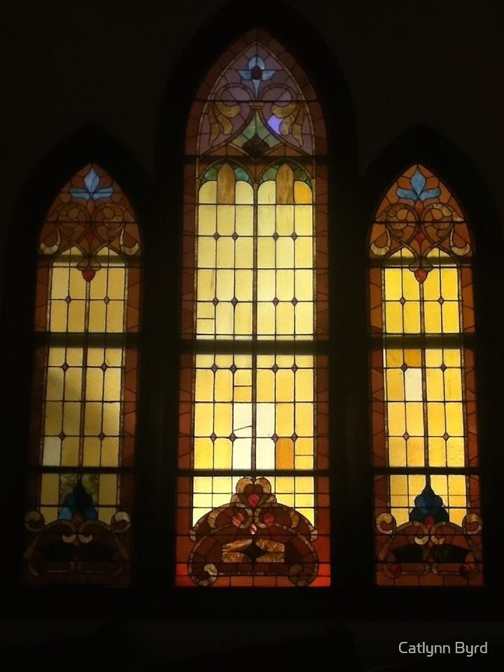 Christmas Morning Church Windows by Catlynn Byrd
