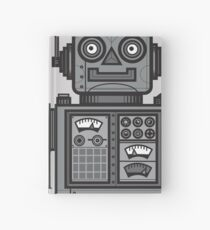 Vintage Robot Hardcover Journal