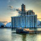 Silos on the Maume River by Mariano57