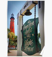Ponce DeLeon Lighthouse, Ponce Inlet, Florida Poster