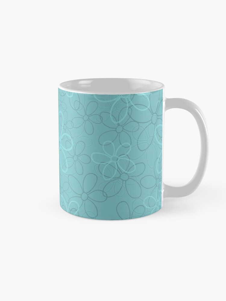 Alternate view of Floret Collection Floral Seamless Surface Pattern Mug