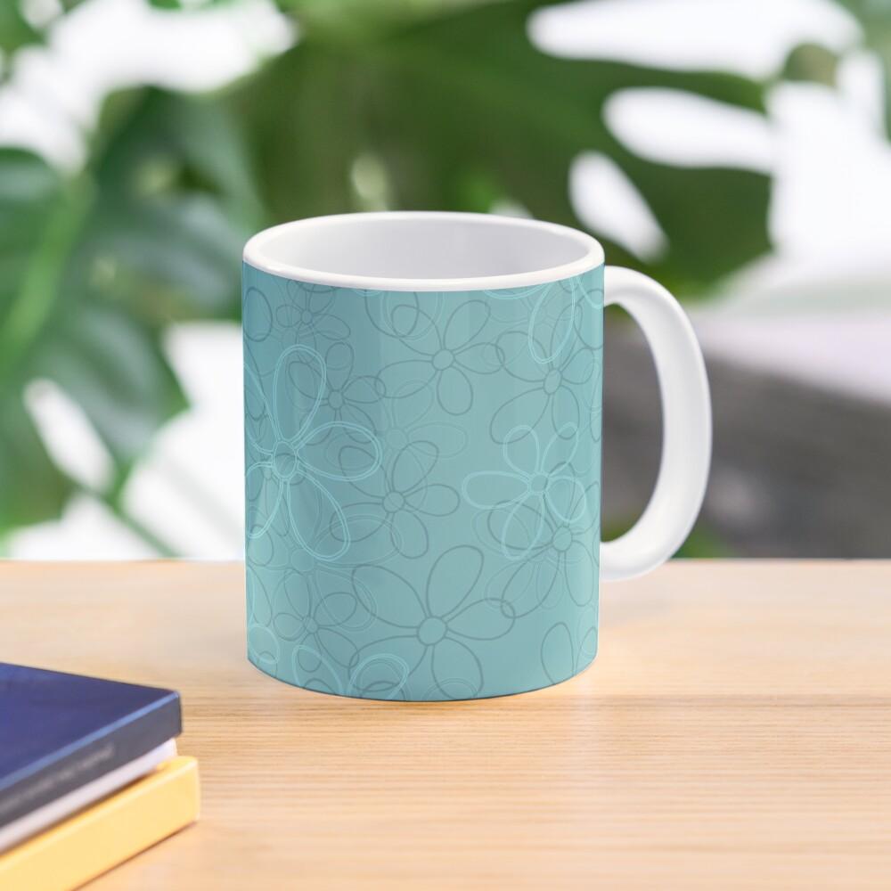 Floret Collection Floral Seamless Surface Pattern Mug