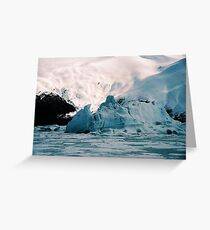 EXTREME ICEBERG AT PORTAGE Greeting Card