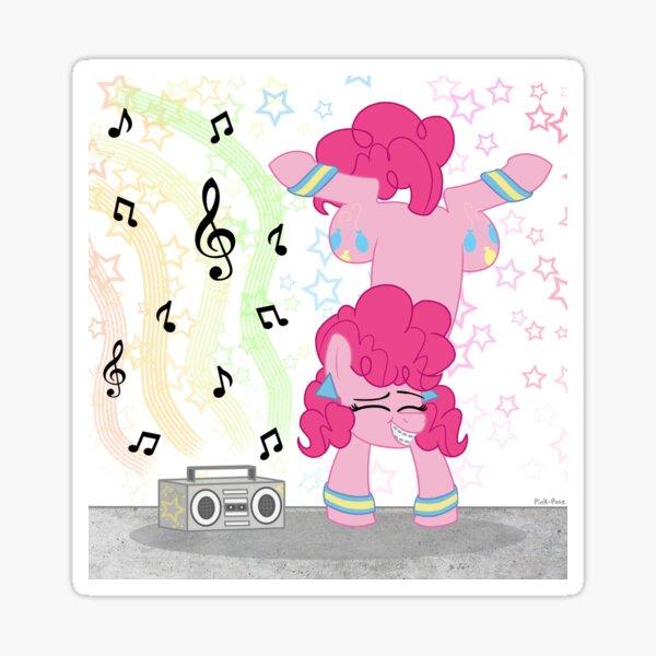 Pinkie Pie Dancing Sticker