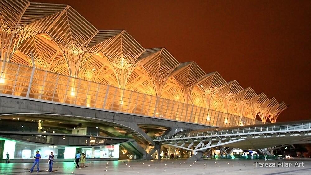 Gare do Oriente. Architecture. Lisbon.  by terezadelpilar ~ art & architecture