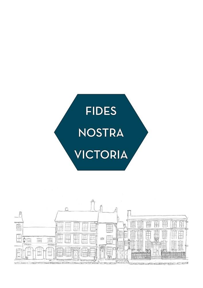 Fides Nostra Victoria by hsdemarco