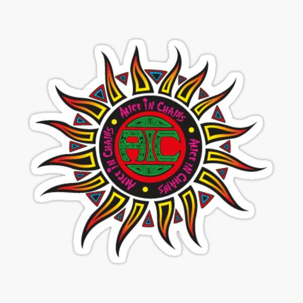Alice in Chains Sun logo  Sticker