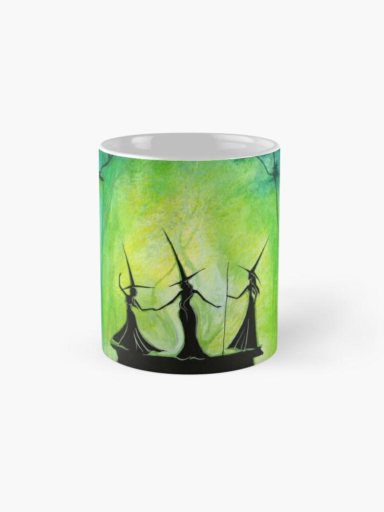 Alternative Ansicht von Emerald Forest Fire Tassen