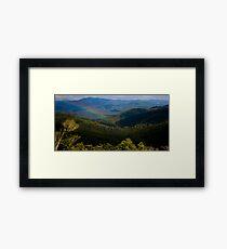 Mt Mee Landscape - Queensland Framed Print