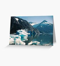 ICE CASTLE ON THE LAKE Greeting Card