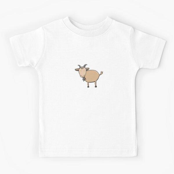Men/'s Premium Cotton Billy Goat Cartoon Print T-Shirt