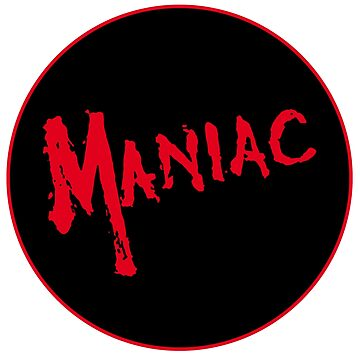 Maniac - Diseño de Logo # 2 - Horror Movie Halloween de NoirGraphic